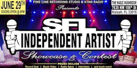 SFL INDEPENDENT ARTIST SHOWCASE & CONTEST tickets