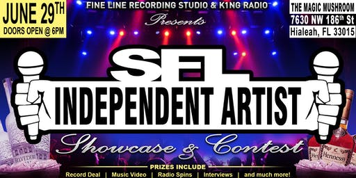 SFL INDEPENDENT ARTIST SHOWCASE & CONTEST