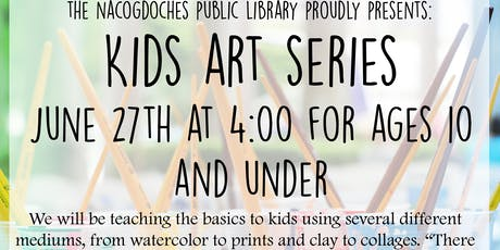 Kids Art Series tickets