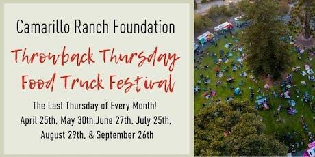 Throwback Thursday Food Truck Festival tickets