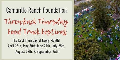 Throwback Thursday Food Truck Festival