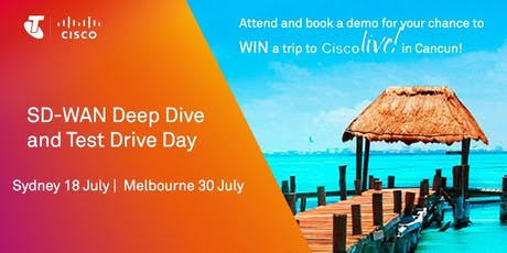 SD-WAN Test Drive Day Melbourne tickets
