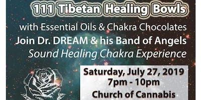 111 Tibetan Healing Bowls, Essential Oils & Raw Cacao Experience, Sound Healing, Denver, CO