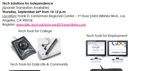 Tech Solutions for Independence tickets