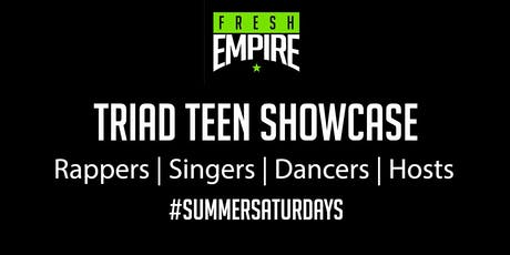 Summer Saturdays:  Triad Showcase Turn Up tickets