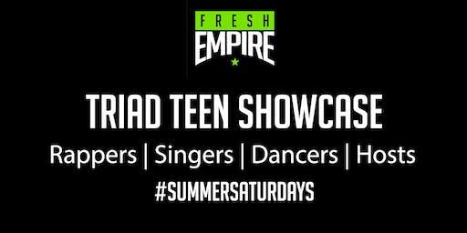 Summer Saturdays:  Triad Showcase Turn Up