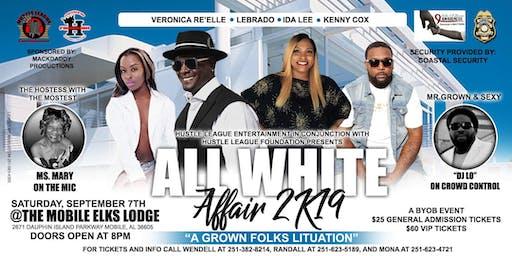 "ALL WHITE AFFAIR 2K19 ""A GROWN FOLKS LITUATION"""