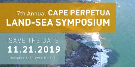 7th Annual Cape Perpetua Land-Sea Symposium (2019) tickets