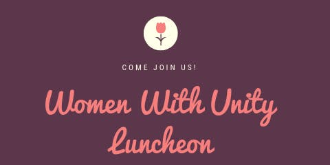 Women with Unity Luncheon
