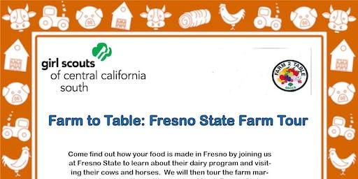 Farm to Table: Fresno State Farm Tour - Fresno