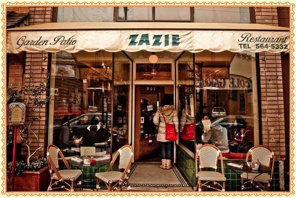French Speaking Dinners at Zazie