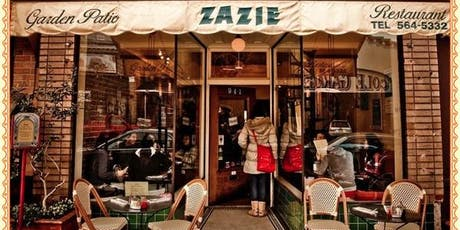 French Speaking Dinners at Zazie billets