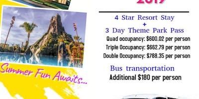 Norfolk Bus Trip to Universal Studios Orlando