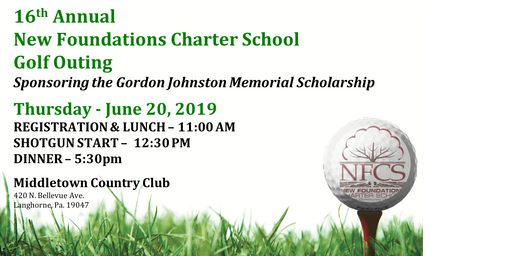 16th Annual New Foundations Charter School Golf Outing