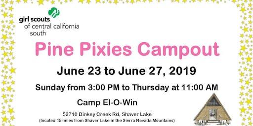 Pine Pixies Campout