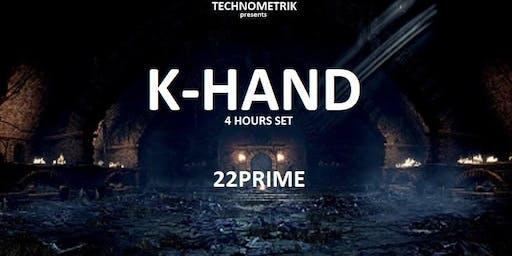 TECHNOMETRIK with K-HAND 4 hours set