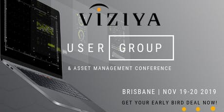 VIZIYA Australia User Group & Asset Management Conference 2019 tickets