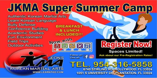 FREE Martial Arts SUMMER CAMP Trial Day