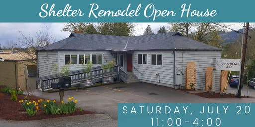 Animal Aid's Remodel Open House