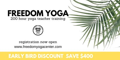 Freedom Yoga Fall Teacher Training