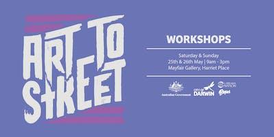 Art to Street: Public Art Workshops