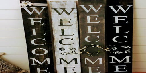 Welcome Porch Sign  $35.00