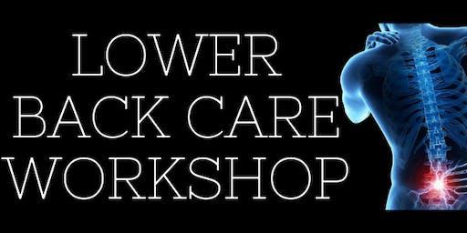 Lower Back Care Workshop