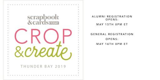 Crop & Create Thunder Bay 2019