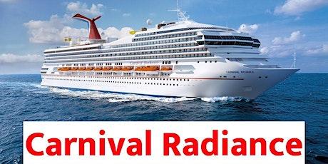 Carnival Radiance Norfolk Va Oct 12th 2020 tickets