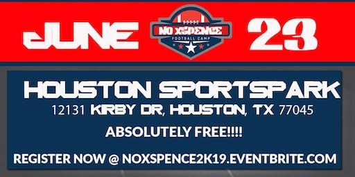 2019 NoXSpence Free Football Camp