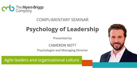 Complimentary Seminar: Psychology of Leadership - Melbourne tickets