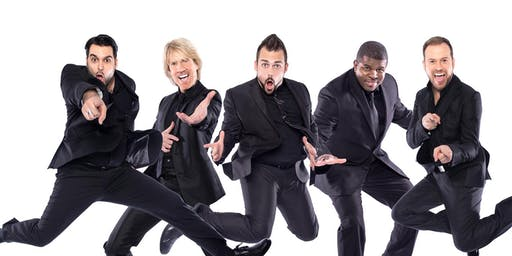 Rockapella in Newtown - Saturday 9/14 at 5PM