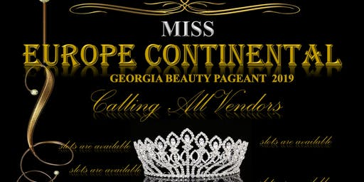 Miss Europe Continental Georgia Beauty Pageant-Vendors