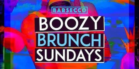 Boozy Brunch Sunday's at Barsecco tickets
