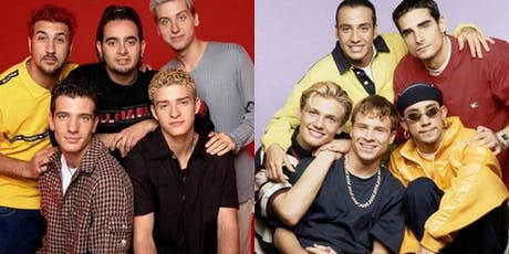 BOY BAND SPECTACULAR-A DJ TRIBUTE TO N*SYNC, BACKSTREET, NKOTB & MUCH MORE  tickets