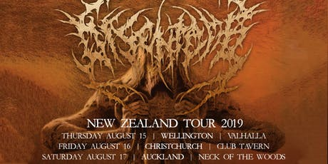 Disentomb New Zealand Tour - Christchurch tickets