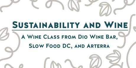 Wine Class: Sustainability and Wine tickets