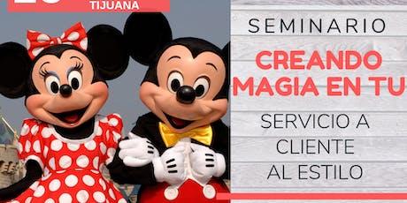 Seminario - Crea Magia en tu Servicio a Cliente al estilo Disney boletos