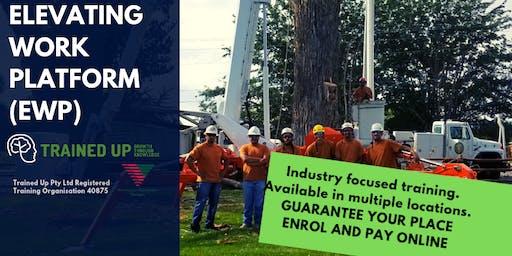 Elevating Work Platform (EWP) – Boom/Scissor Lift Over 11 metres ticket