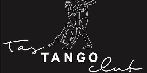 Tas Tango Club - Weekly Tuesday Evening Lesson & Practilonga - WINTER Ticket