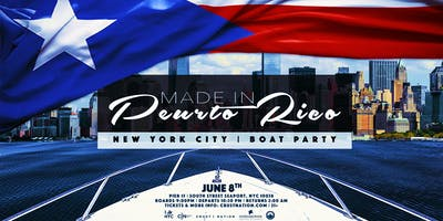 MADE IN PUERTO RICO - Boat Party Yacht Cruise NYC: SPECIAL GUESTS