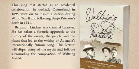 Waltzing Matilda Lecture tickets