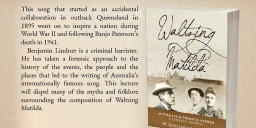 Waltzing Matilda Lecture