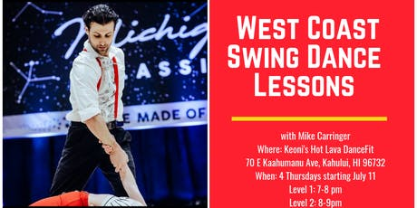 West Coast Swing Dance Lessons tickets