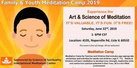 Family & Youth Meditation Camp 2019 tickets