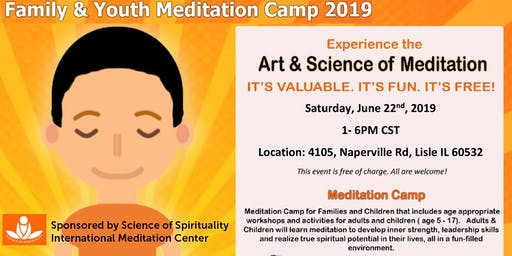 Family & Youth Meditation Camp 2019