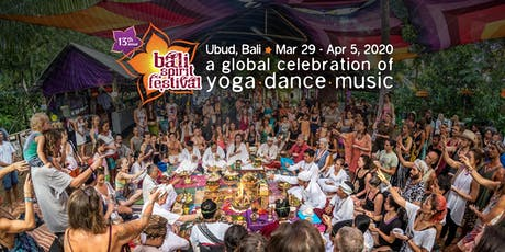 BaliSpirit Festival 2020 - A Global Celebration of Yoga, Dance & Music tickets