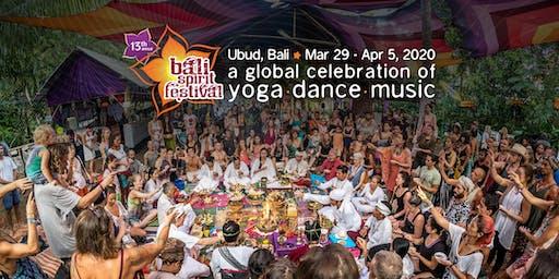 BaliSpirit Festival 2020 - A Global Celebration of Yoga, Dance & Music