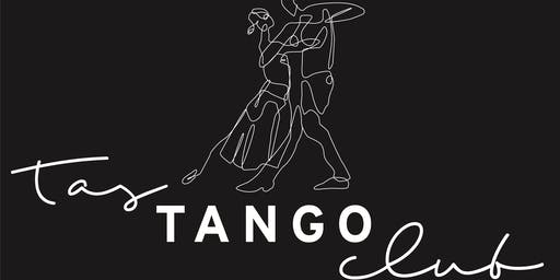 Tas Tango Club - Weekly Tuesday Evening Lesson & Practilonga - SPRING Ticket