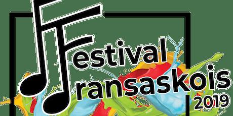 Festival fransaskois tickets